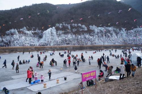 안동 암산얼음축제 2018 사진4