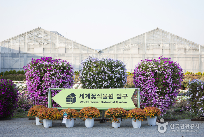 World Flower Botanical Garden (세계꽃식물원)