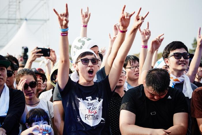 釜山摇滚音乐节(부산록페스티벌)