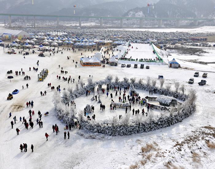麟蹄ワカサギ祭り(인제빙어축제)