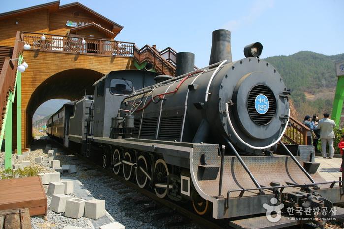 Seomjingang Train Village (섬진강기차마을)