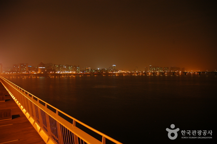 Night veiw from Mapo Bridge (마포대교 야경)