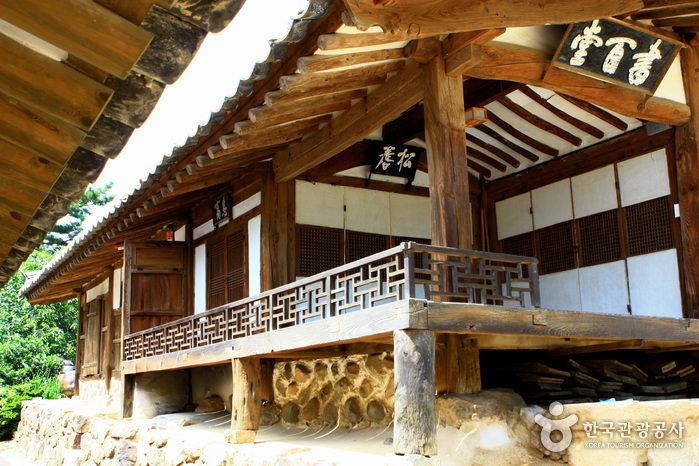 photo about Historic Villages of Korea:Hahoe and Yangdong