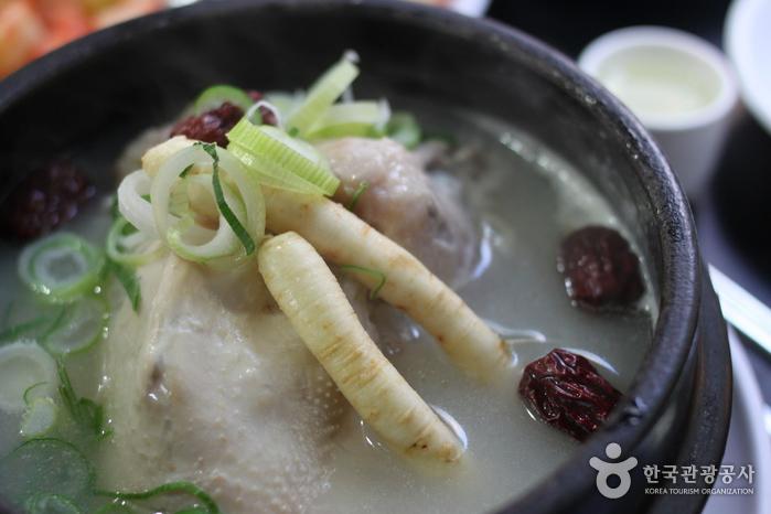 Baekje Samgyetang (백제삼계탕)