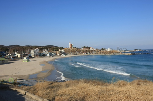 九龍浦海水浴場(구룡포해수욕장)