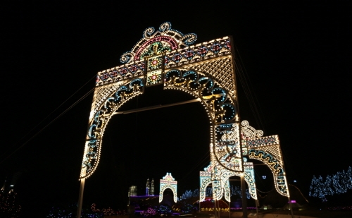 World Nightview Fantasy Lighting Festival at The Bucheon Aiins World (부천 아인스월드 빛축제 - 세계야경 루미라루체 시즌2)