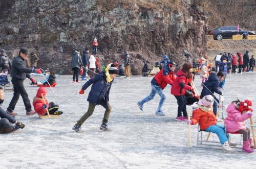 안동 암산얼음축제 2018 사진3