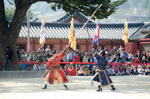 Hwaseong Haenggung 24 Martial Arts Trial Performance (화성행궁 무예24기 시범공연)
