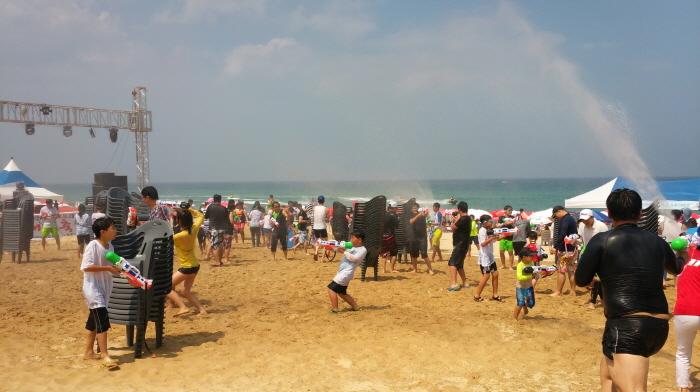 注文津海水浴場祭り(주문진 해수욕장 축제)