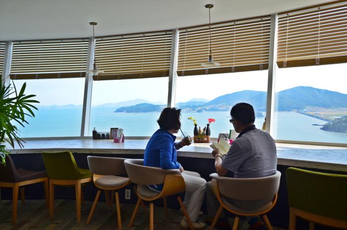 정남진 전망대 카페(9층)