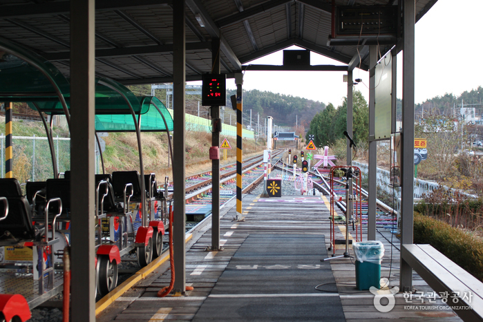 全州韓屋鐵路自行車(전주한옥레일바이크)