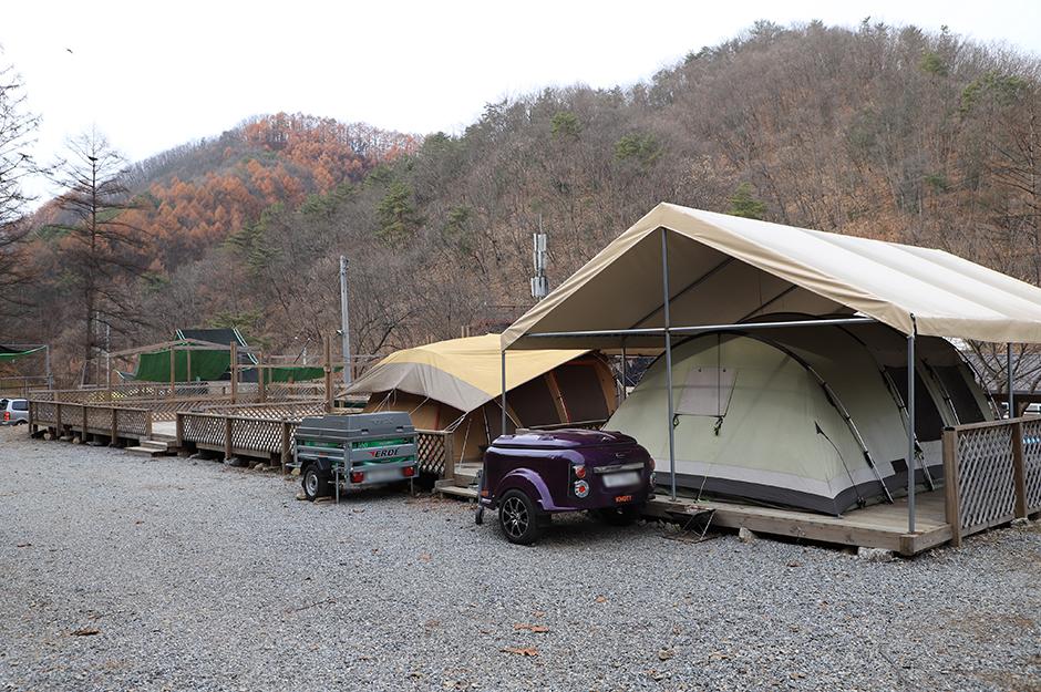 문배골 캠핑장