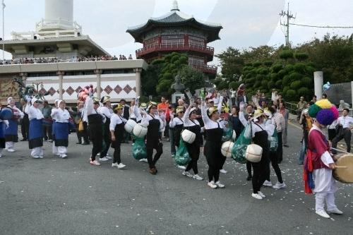 Festival du Marché Jagalchi à Busan (부산 자갈치축제)