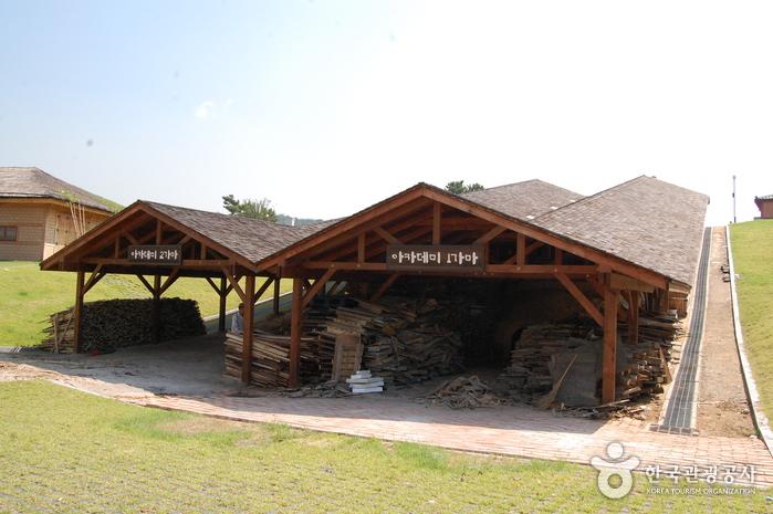 Деревня гончарных изделий на горе Вегосан (외고산옹기마을)17