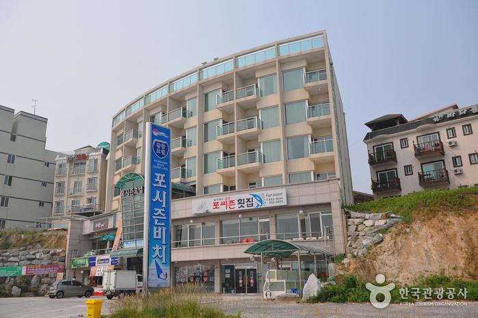 江陵フォーシーズンビーチ観光ホテル(강릉 포씨즌비치관광호텔)