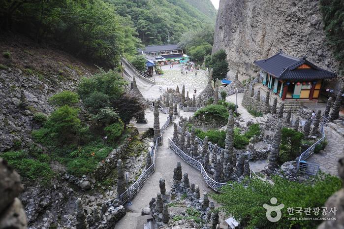 馬耳山塔寺(마이산 탑사)