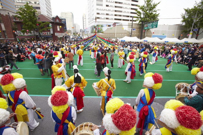 Lotuslaternenfestival (연등회(연등축제))