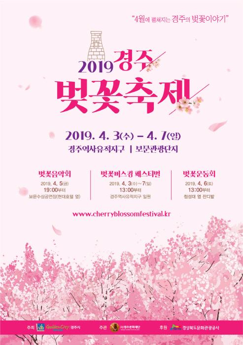 庆州樱花节 경주벚꽃축제