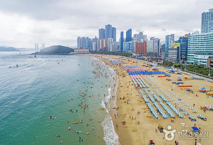 Strand Haeundae (해운대해수욕장)