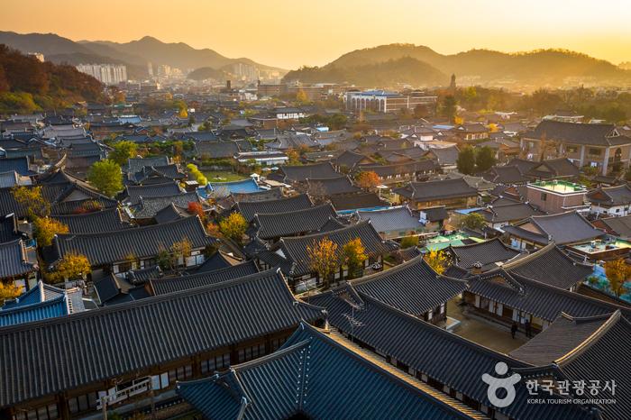 Village de hanok de Jeonju [Ville lente] (전주한옥마을 [슬로시티])
