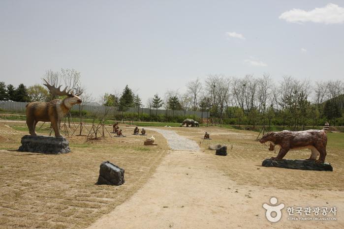 Prähistorische Stätte Jeongok-ri (연천 전곡리 유적)