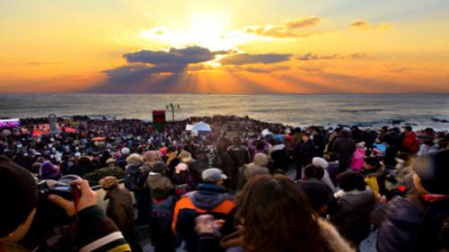 蔚山艮絶串日の出祭り(울산 간절곶 해맞이축제)