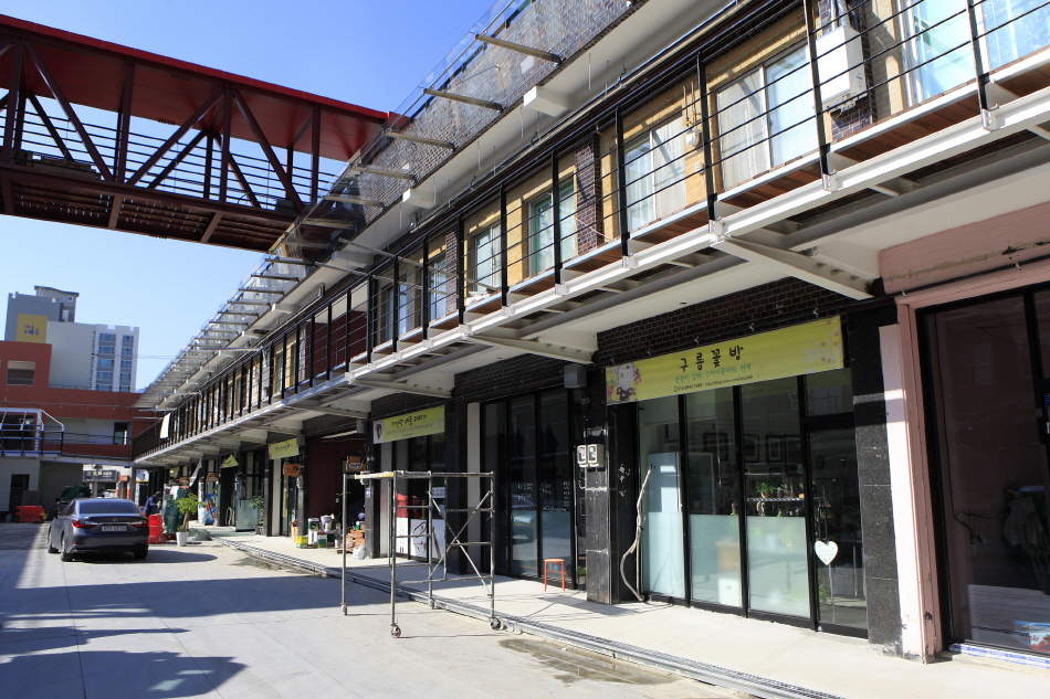 중앙시장 공예촌