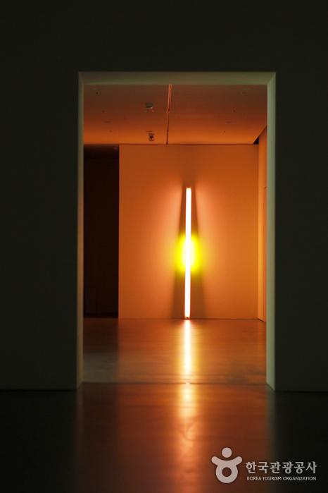 형광등을 소재로 삼은 댄 플래빈의 작품