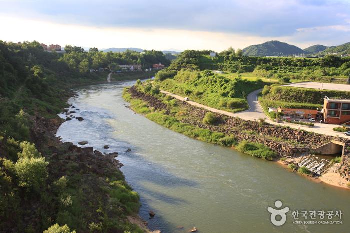Река Хантханган (한탄강)3