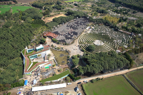 Maze Land mayor laberinto mundo Corea Sur Korea