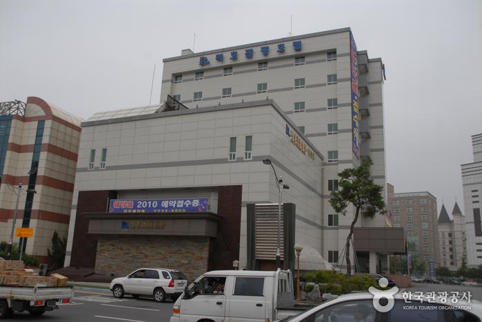 丽湖观光饭店<br>(리호 관광호텔)