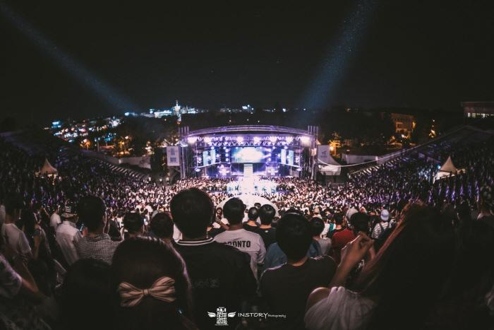 청년 대구로 청춘힙합페스티벌 2018