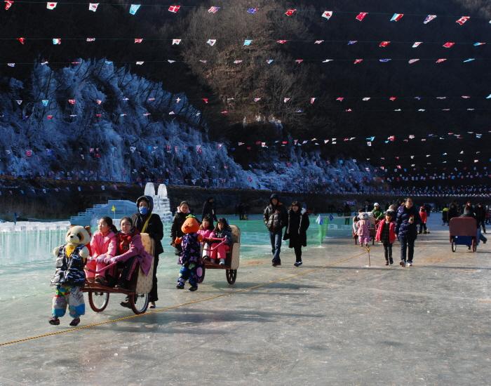 안동 암산얼음축제 2019