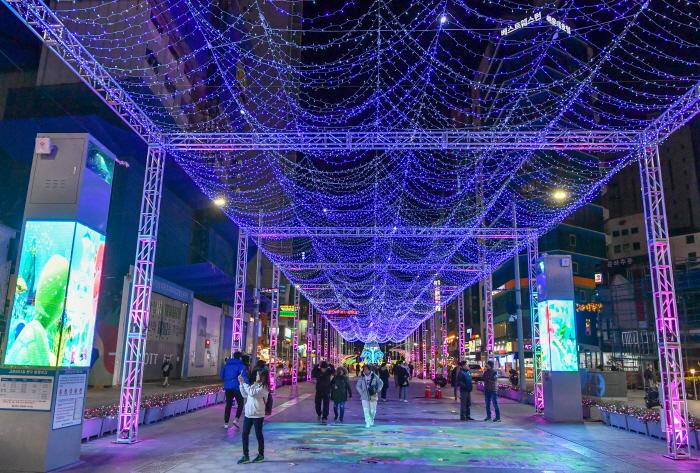 海雲台光祭り(해운대 빛축제)