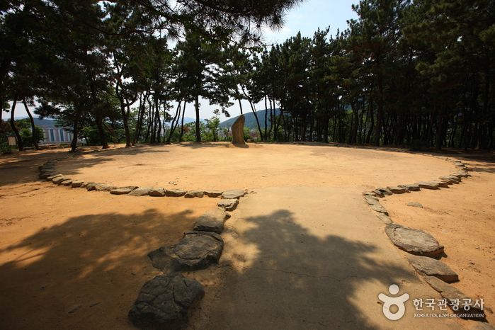 Gipfel Gujibong (구지봉)