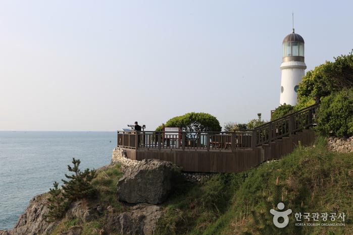 Остров Тонбэксом на Хэундэ (해운대 동백섬)3