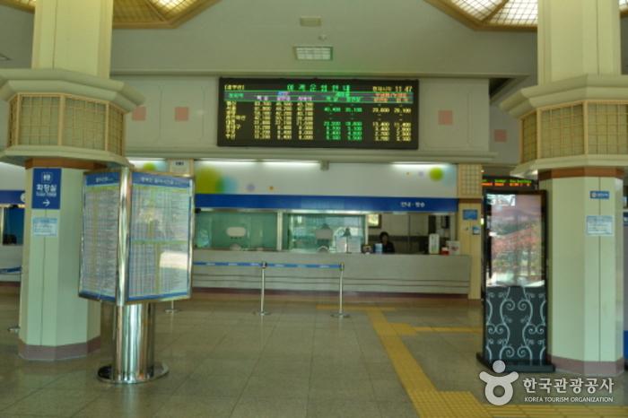 Bahnhof Miryang (밀양역)