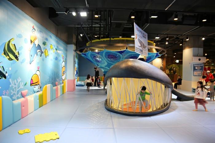 고래를 테마로 한 놀이터