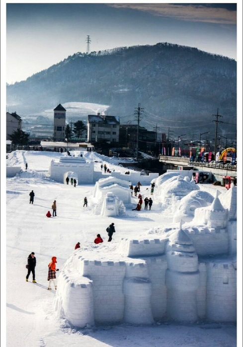 대관령 눈꽃축제 2017 사진7