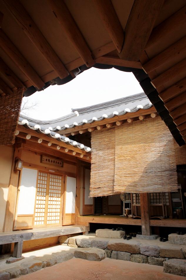 무섬마을의 고택