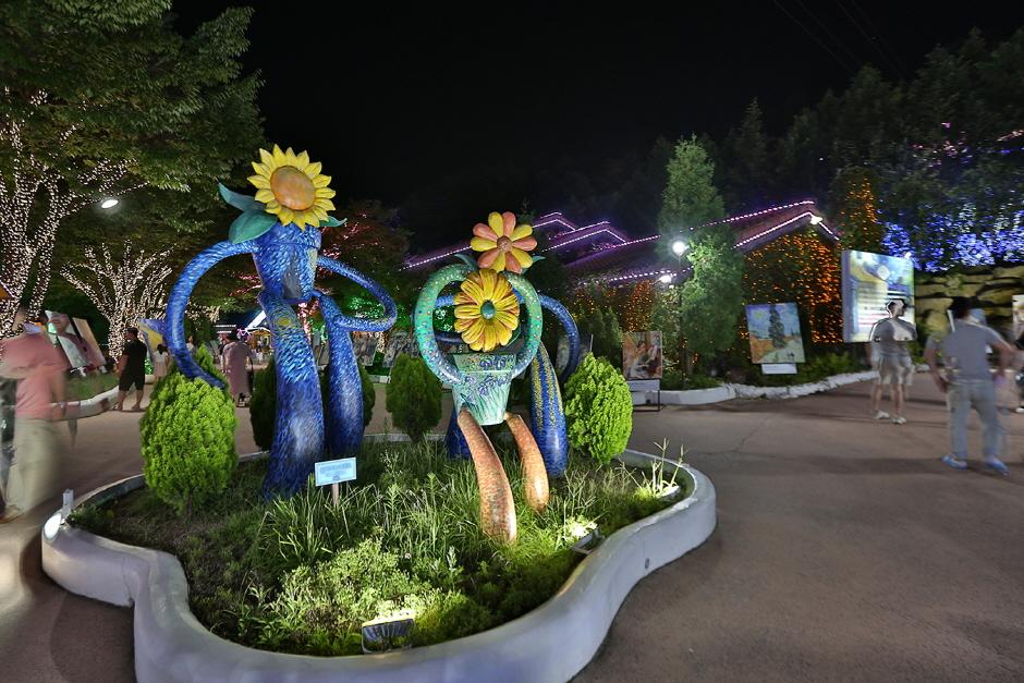 청도 프로방스 빛축제와 함께하는 세계 명화 100선 2021