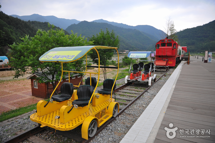 Trash: Jeongseon Auraji Rail Bike (정선 아우라지 레일바이크)