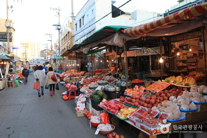 Jukdo-Markt Pohang (포항 죽도시장)