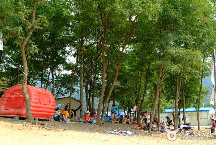 ハナゲ海水浴場(하나개해수욕장)