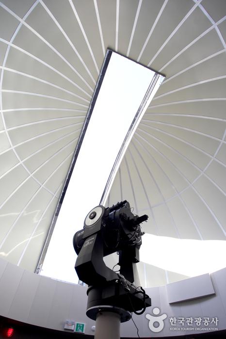 주관측실의 망원경