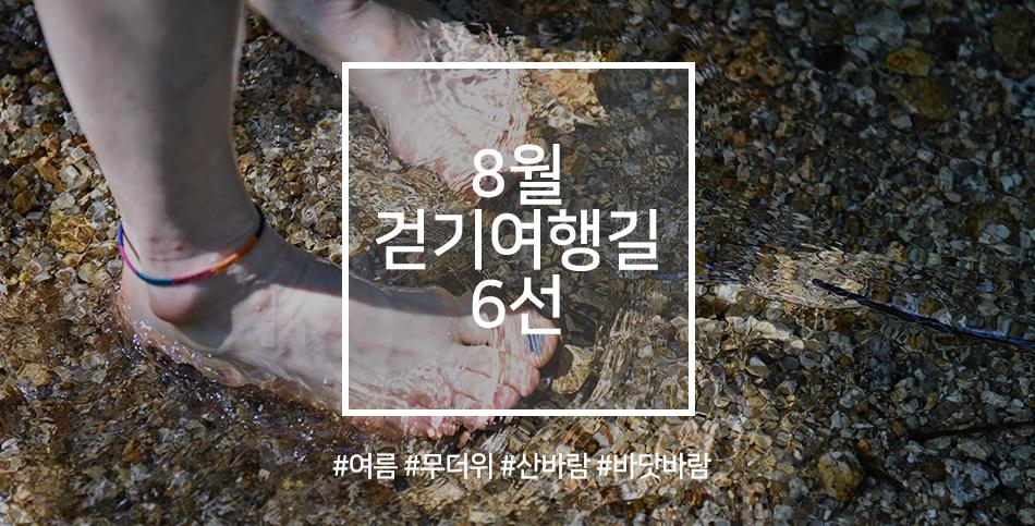 한국관광공사 추천 8월 걷기여행길, 여름의 정취를 느끼러 가는 길 사진