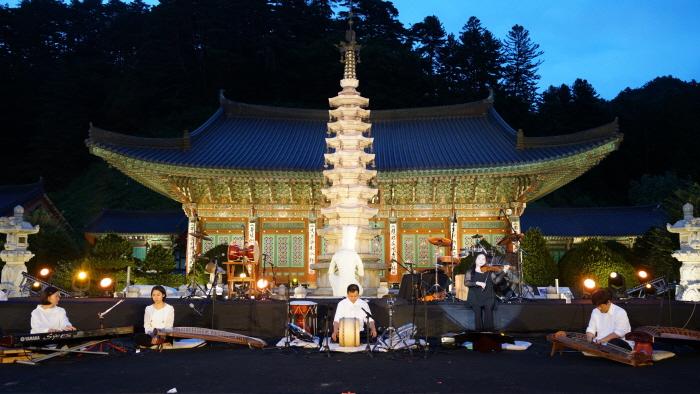五台山文化祭り「風の色彩」(오대산 문화축제