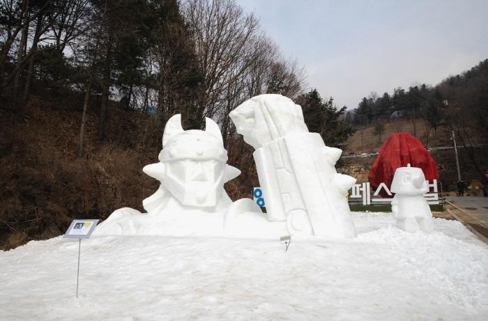 楊州雪花節(양주 눈꽃축제)