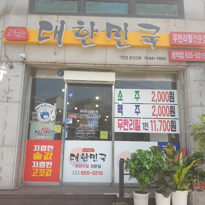 大韓民国( 대한민국 )