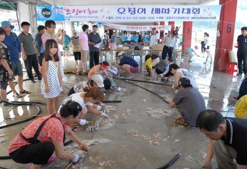 Ulleungdo Squid Festival (울릉도 오징어축제)
